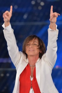 Gian Mattia D'Alberto - lapresse 14-02-2015 Sanremo IM spettacolo   Sanremo 2015 - 65mo Festival della canzone italiana  serata finale  nella foto: Gianna Nannini   Gian Mattia D'Alberto - lapresse 14-02-2015  Sanremo IM enterteinment Sanremo 2015 -  65th Italian Song Festival In the photo: Gianna Nannini